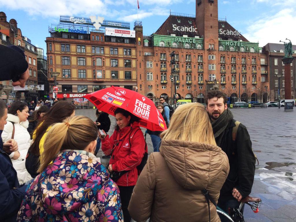 Экскурсия от трипадвизора Free Tour в Копенгагене