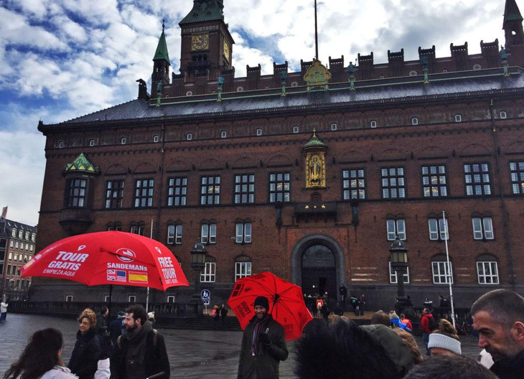 Городская ратуша в Копенгагене