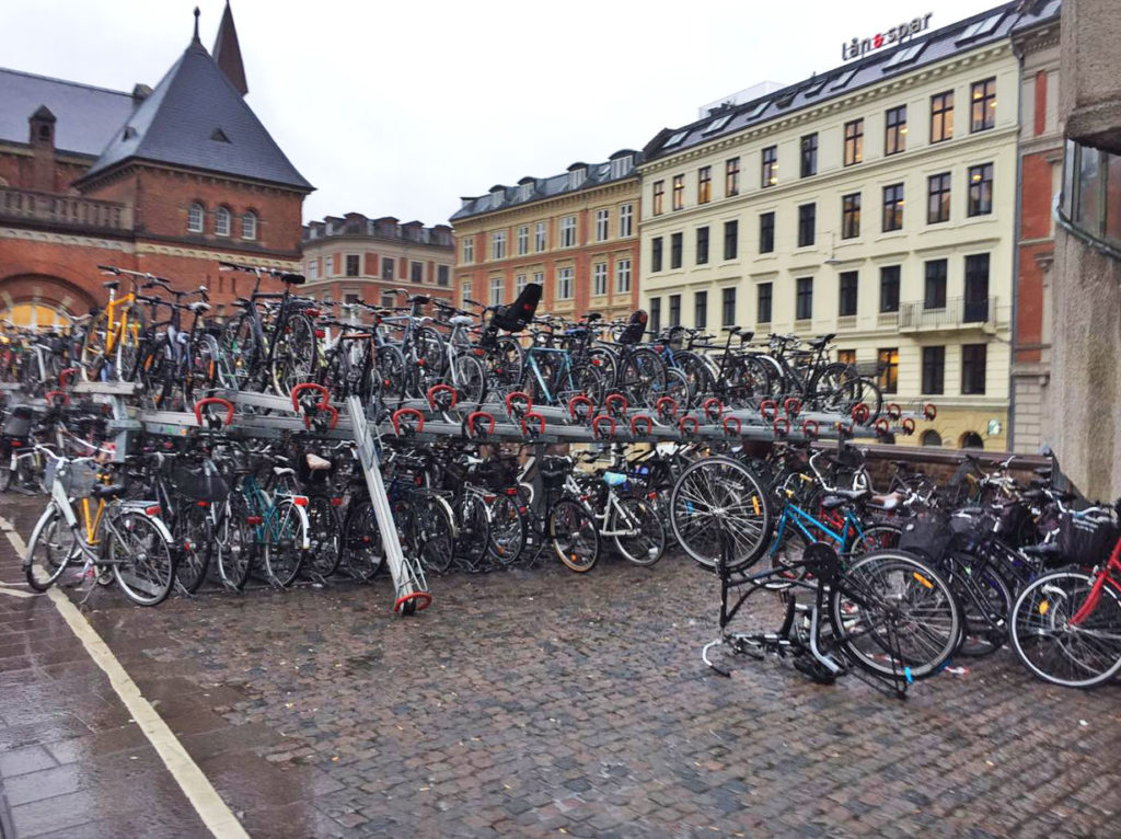 Копенгаген велосипеды