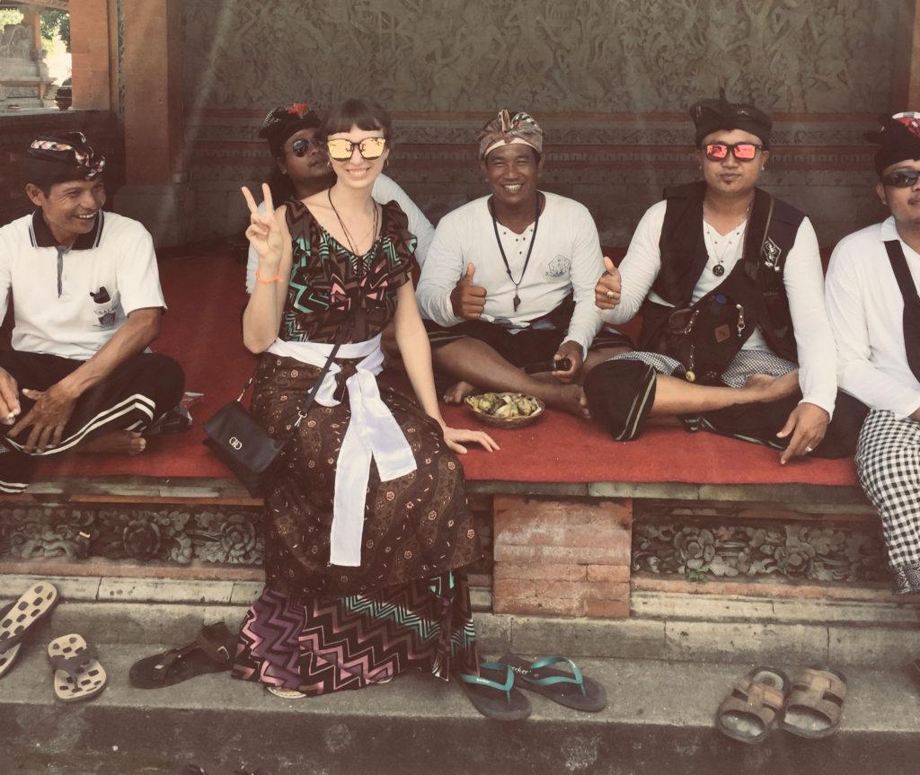 Местные жители острова Бали