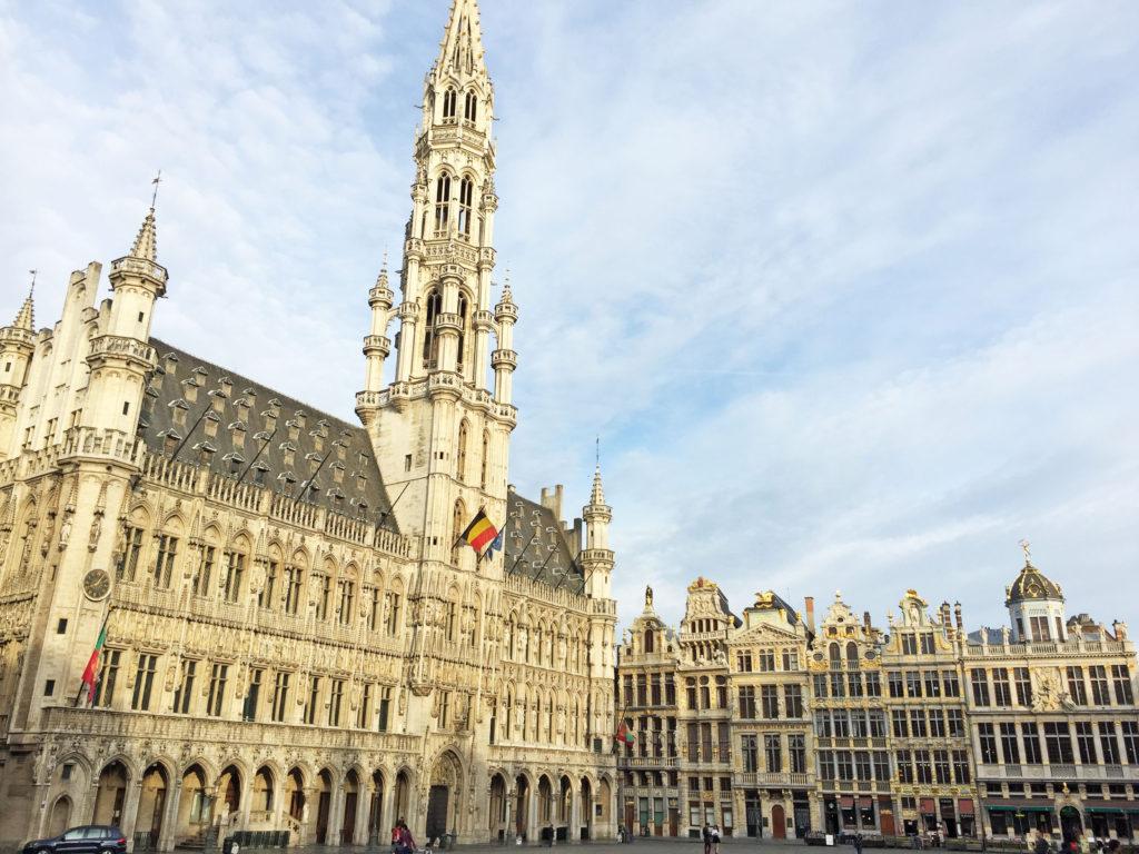 Гранд-Плас в Брюсселе в старом городе