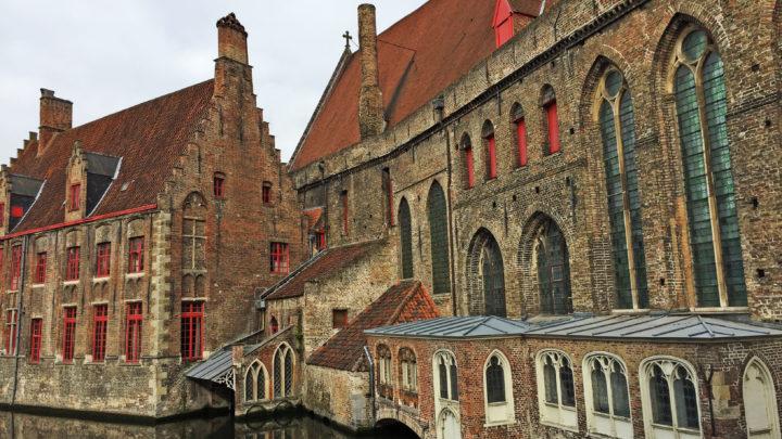 Сказочный фламандский городок Брюгге