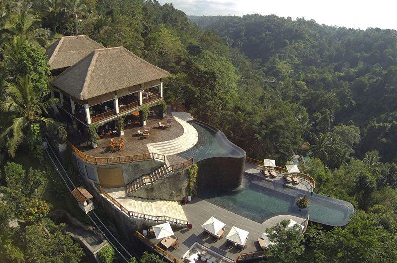 Самый дорогой отель на Бали Люкс Hanging Gardens