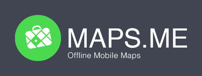 Онлайн карты maps.me