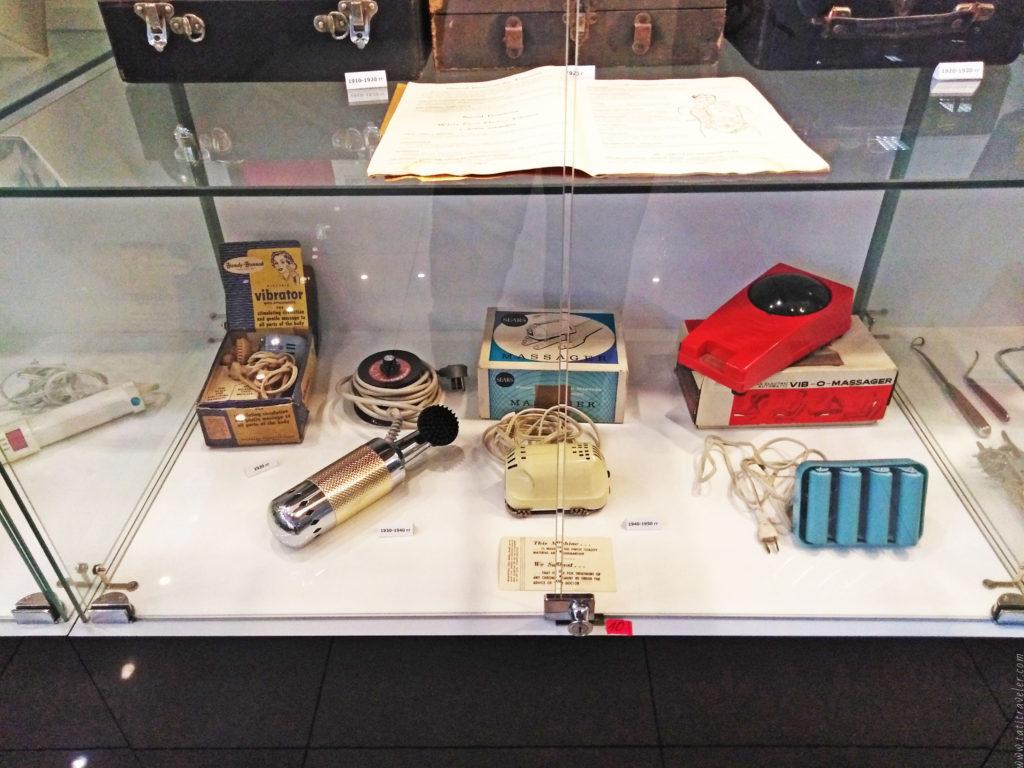 Раритетные вибраторы в музее МузЭрос