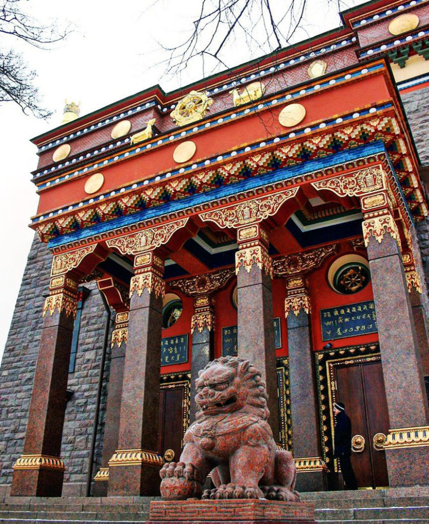Буддийский храм Дацан Гунзэчойнэй в Санкт-Петербурге