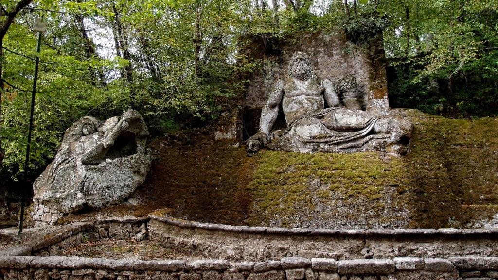 Священный сад в Бомарцо Италия