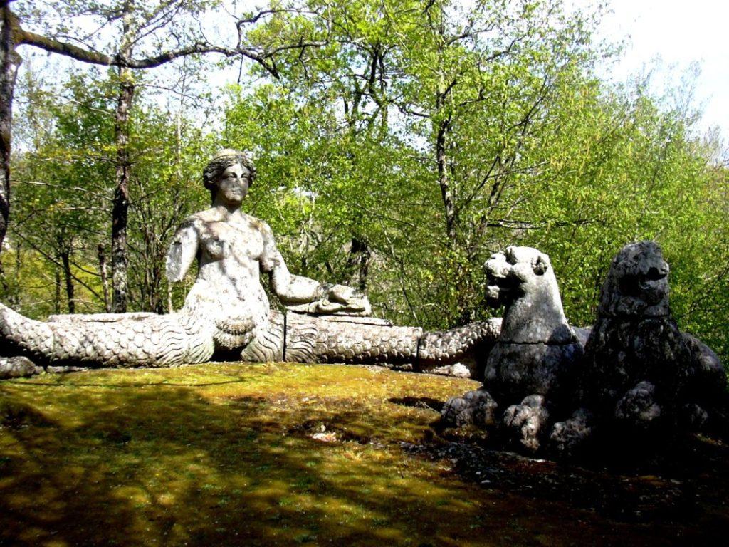 Парк сад Sacro Bosco