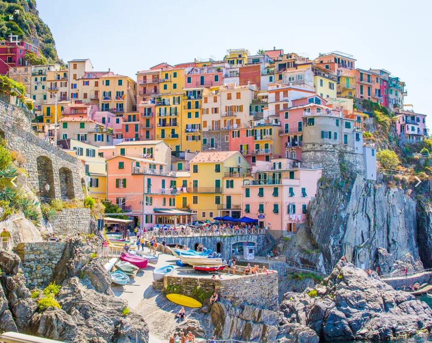 Много домов на острове в Италии фото