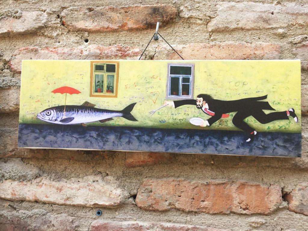 Грузинская живопись картина