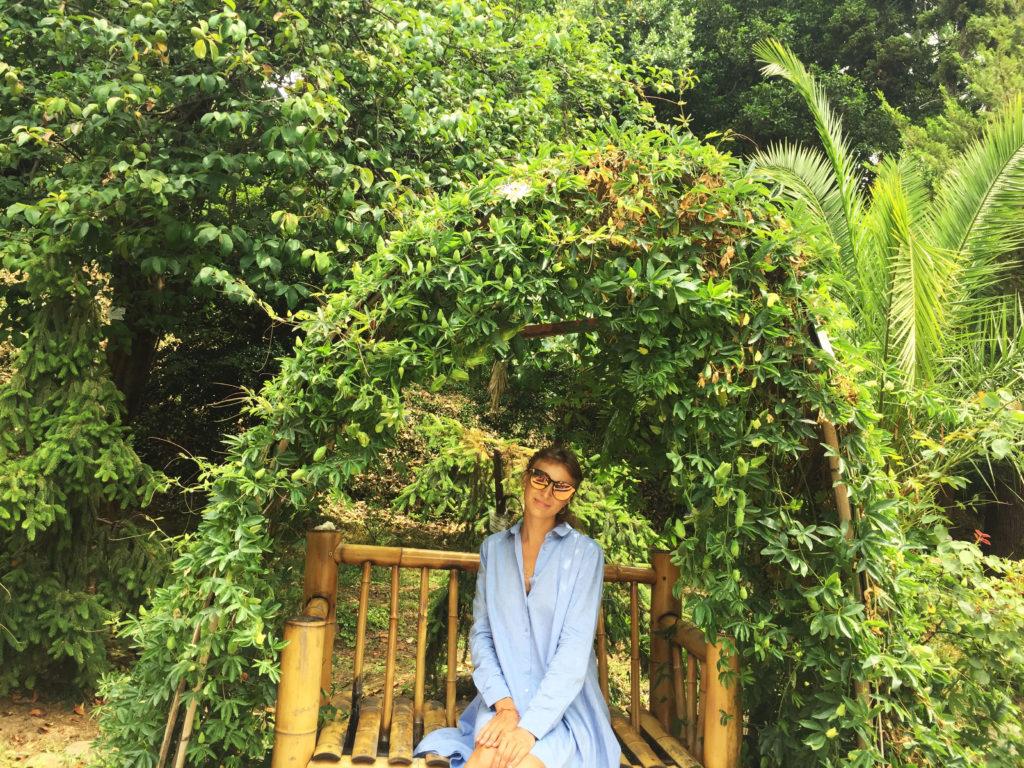 Ботанический сад в Батуми в пригороде